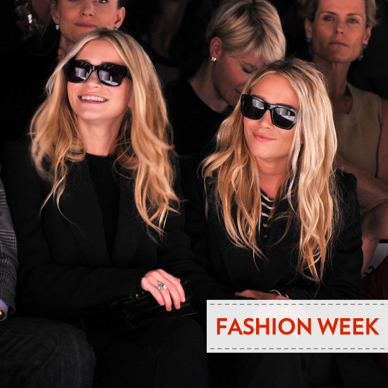Celebrity Beauty Looks from theFront Row at Fall 2012 New York Fashion Week Olivia Palermo, Leighton Meester, Rachel Zoe &amp; More
