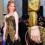 Jessica Chastain: Her Oscars Nails