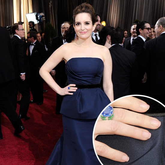 Tina Fey: Her Oscars Nails
