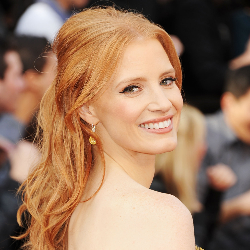 Jessica Chastain at the Oscars