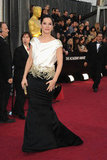 Sandra Bullock in Marchesa at the Academy Awards