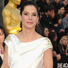 Sandra Bullock Black and White Marchesa Pictures at 2012 Oscars