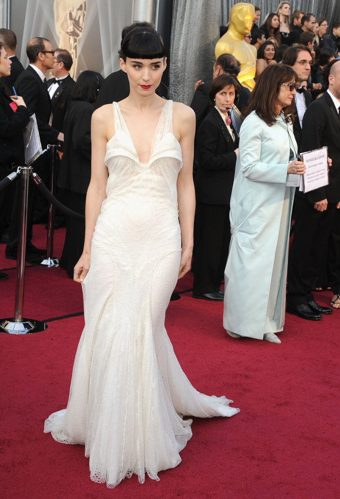 Rooney Mara on the Oscars Red Carpet