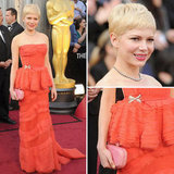 Michelle Williams at Oscars 2012