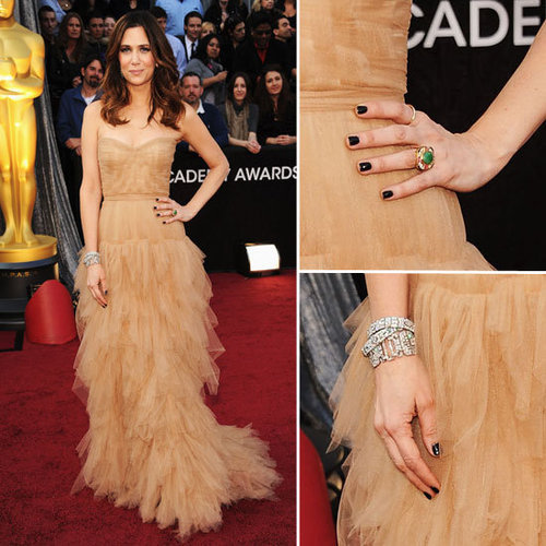 Bridesmaids Star Kristen Wiig Goes Nude in J Mendel on the Oscars Red Carpet: Do you Rate It or Hate It?