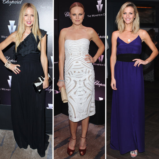 Celebrity Fashion at Weinstein Party 2012