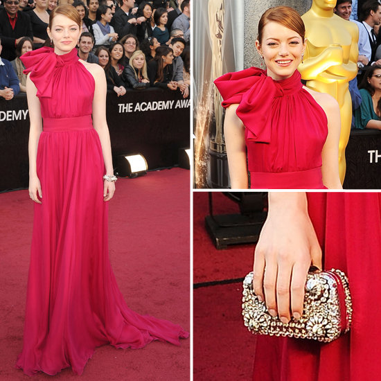 Emma Stone at Oscars 2012