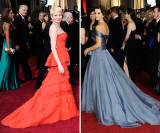 Oscars 2012 Trends: Long Trains