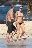 Megan Fox and Brian Austin Green took a swim in Hawaii.