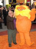 Danny DeVito hung out with the Lorax on their big night.