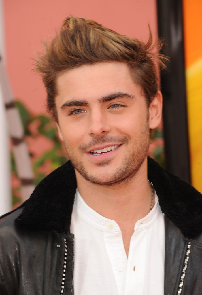 Zac Efron was looking good at the premiere of The Lorax.