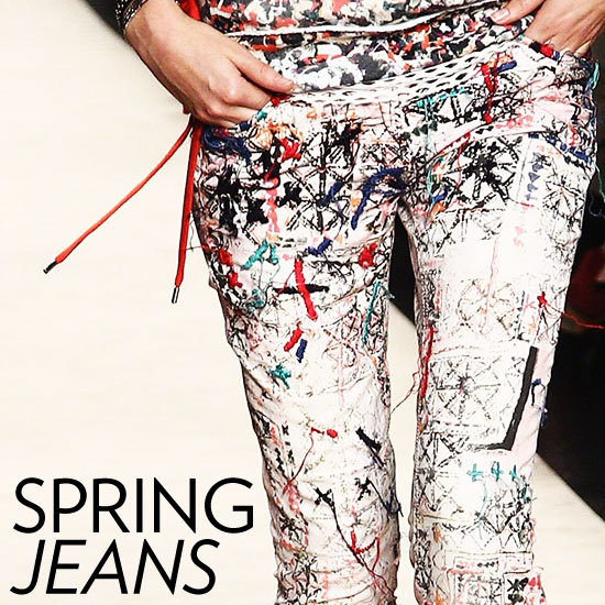 The Newest Crop of Printed Jeans — and How to Wear Them