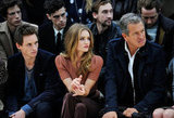 Eddie Redmayne, Rosie Huntington-Whiteley and Mario Testino at Burberry