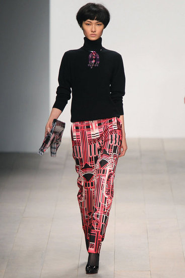 Holly Fulton Runway 2012 Fall