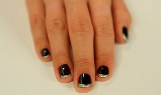 Try This Creative Take on the Classic French Manicure
