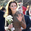 Kate Middleton Pictures at Rose Hill Primary School