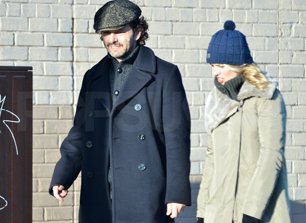 Rachel McAdams and Michael Sheen Laugh Their Way Home From Lunch