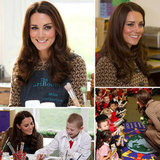 Kate Middleton Observes Art and Poetry With Oxford School Kids