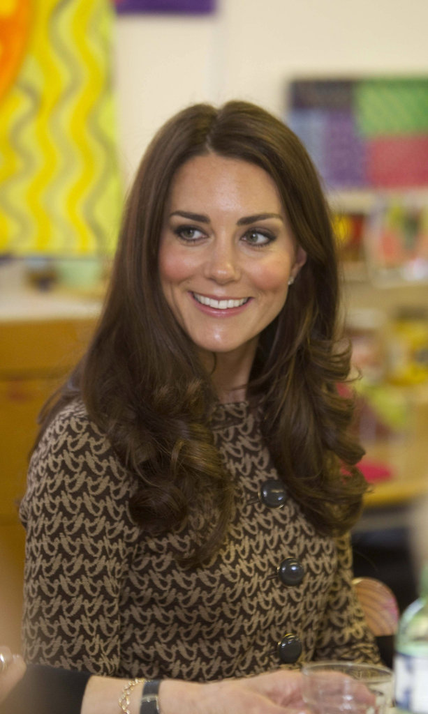 Kate Middleton wore Orla Kiely in Oxford.