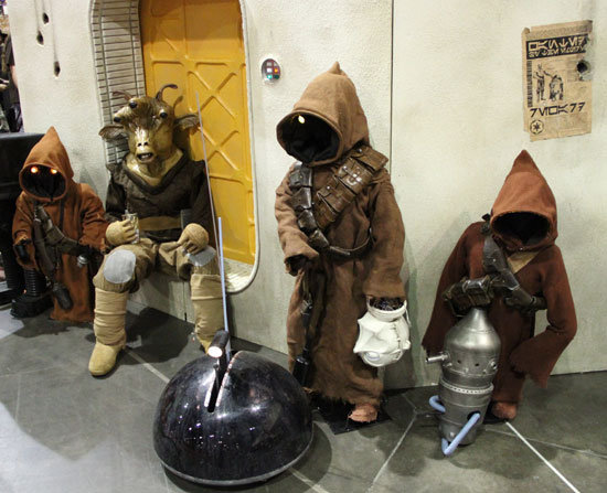 The life of a Jawa certainly isn't easy.  Source: Flickr User gordontarpley