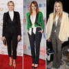 Celebrities Wearing Menswear-Inspired Suits 2012