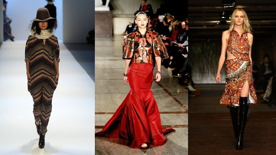 Global Inspirations Dominate For Fall 2012 at New York Fashion Week