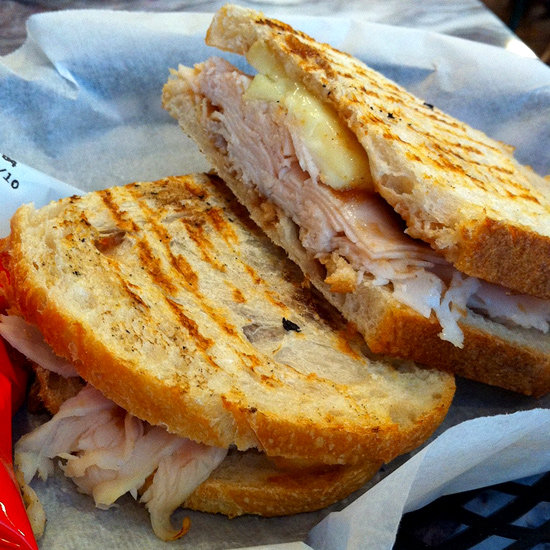 Turkey Apple and Brie Panini