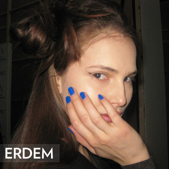 Erdem Autumn/Winter 2012 Hair Makeup and Nails