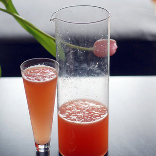 Fresh Grapefruit Mimosa