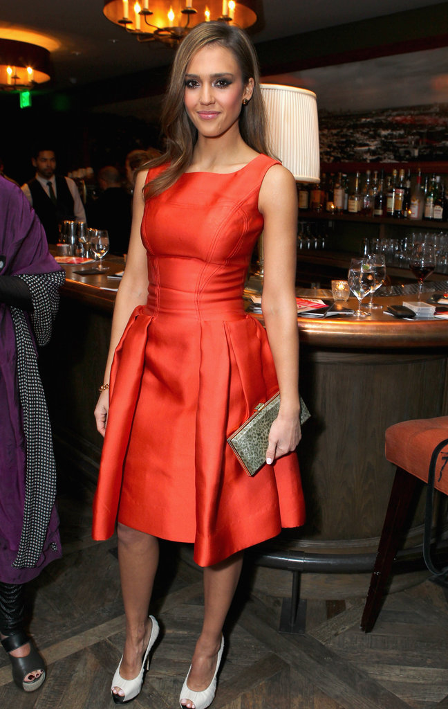 Jessica Alba and Charlize Celebrate a Belated V-Day at Soho House