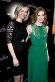 Jess Weixler smiled alongside Jessica Chastain.