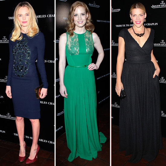 Kate Bosworth, Chelsea Handler and Jessica Chastain Celebrate Charlie Chaplin and Oscar Week