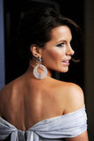 Kate Beckinsale posed on the red carpet at the Costume Designers Guild Awards.