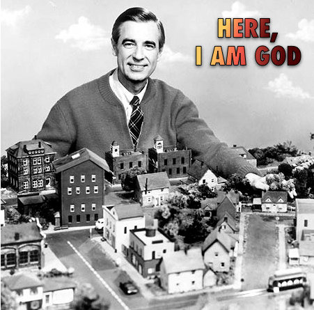 Mr. Rogers Conducts a Play Universe
