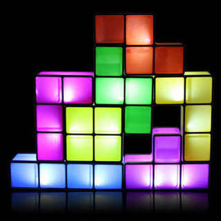 Tetris Lamp Picture