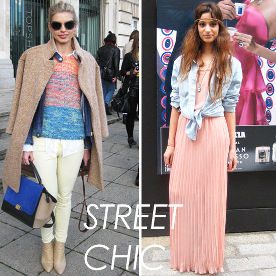 Street Style from London Fashion Week Autumn/Winter 2012