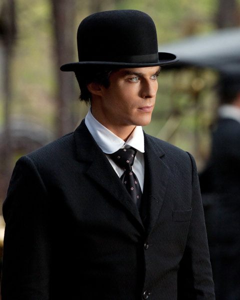 Ian Somerhalder as Damon in The Vampire Diaries. Photo courtesy of The CW