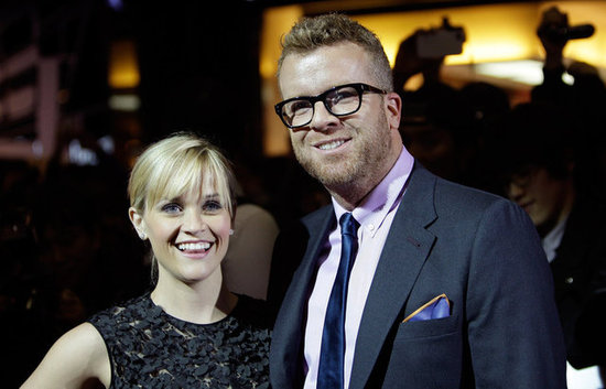 Reese Witherspoon posed alongside director McG at the Seoul premiere for This Means War.