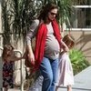 Jennifer Garner Violet Seraphina at the Library Pictures