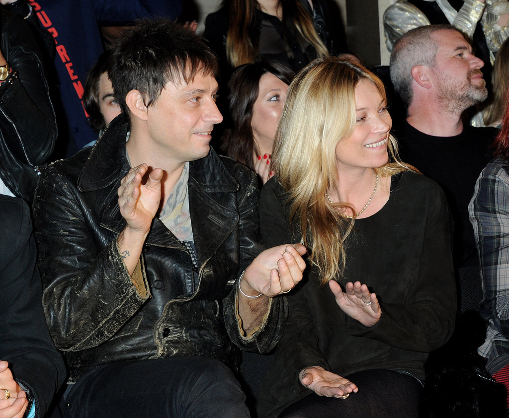 Kate Moss and Jamie Hince congratulated their designer pal James Small.