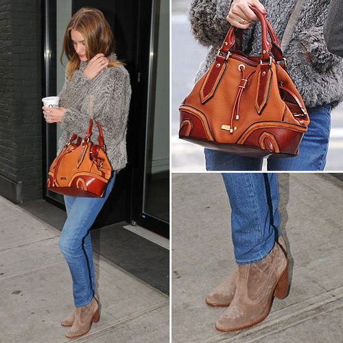 Rosie Huntington-Whiteley Burberry Bag