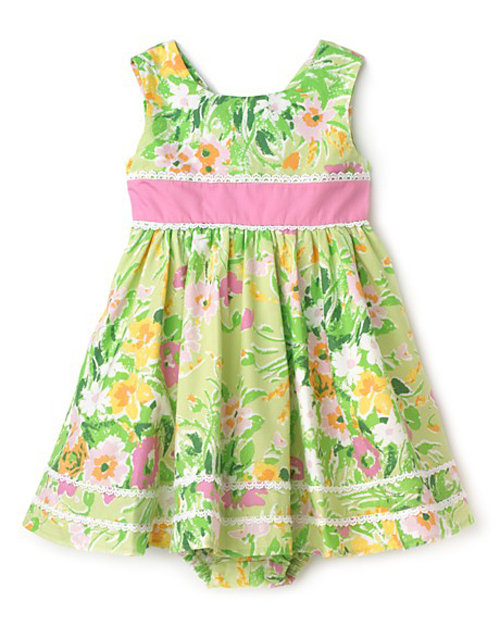 Hartstrings Woven Dress and Bloomers