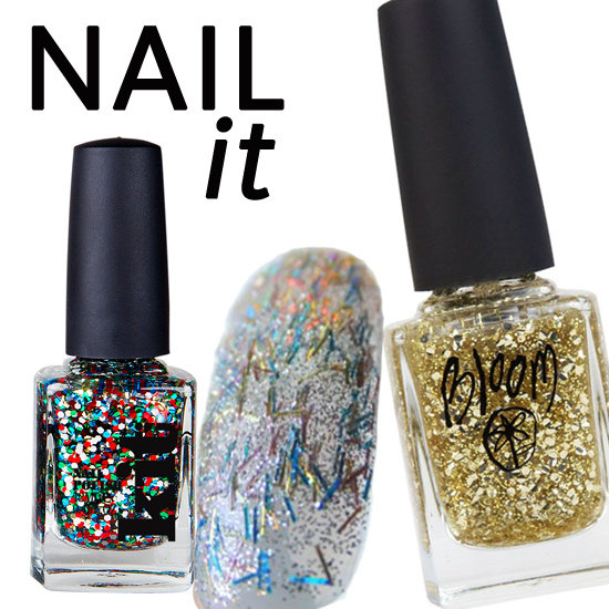5 New Glitter Nail Polishes