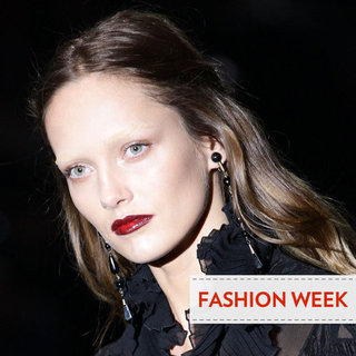 Gucci Autumn/Winter 2012 Hair and Makeup Report