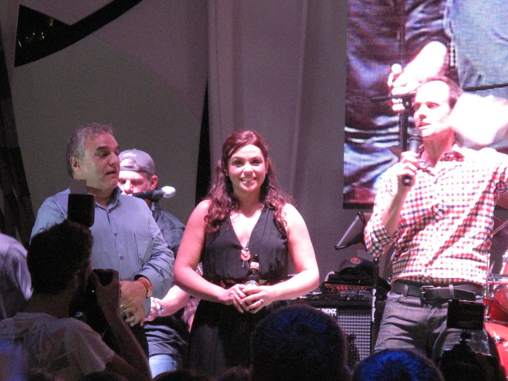 Lee Schrager and Rachael Ray