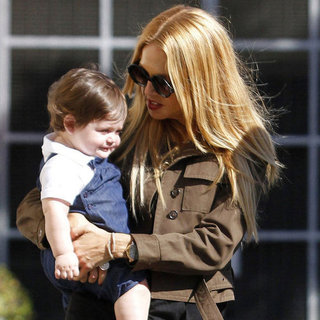 Rachel Zoe With Skyler and Joey Maalouf Pictures in LA