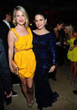 Ali Larter and Sophia Bush caught up.