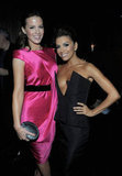 Kate Beckinsale posed with Eva Longoria.