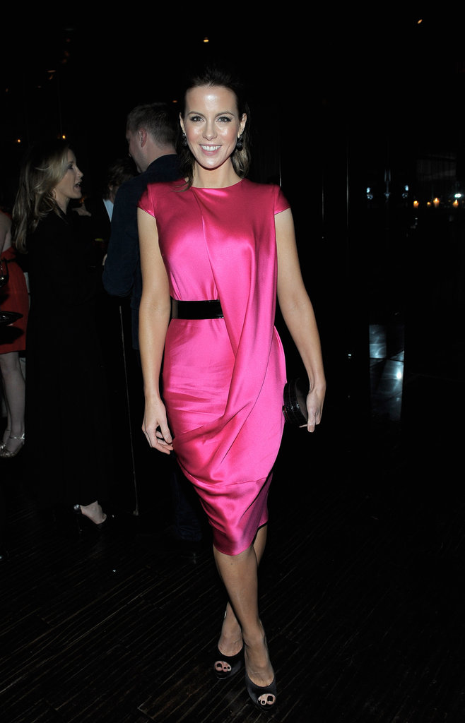 Kate Beckinsale wore Alexander McQueen to Beso.
