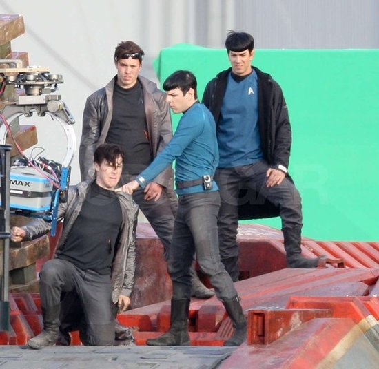Zachary Quinto fought with Benedict Cumberbatch on set.